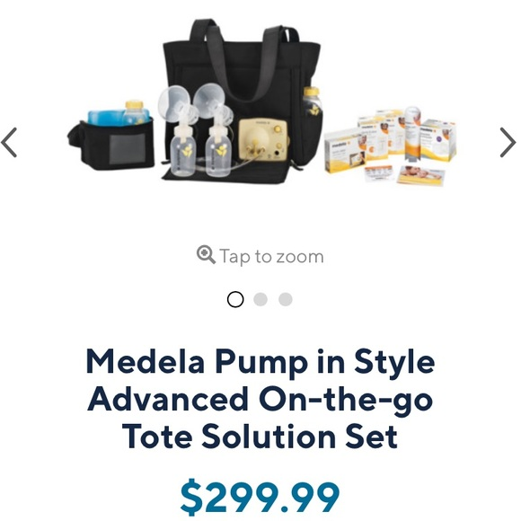 Medela Other Pump In Style Advanced Onthego Tote Set Poshmark